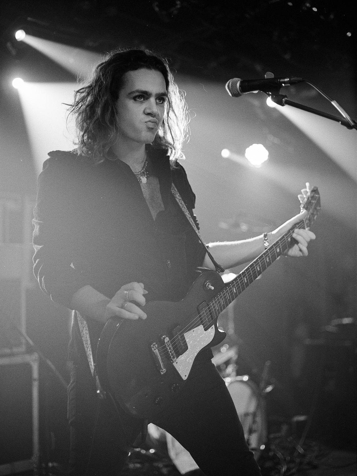 argentique guitariste the struts musique